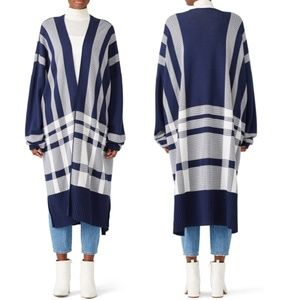 Mother Of Pearl Etna Long Cardigan